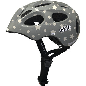 ABUS Youn-I Helmet Kinder grey star
